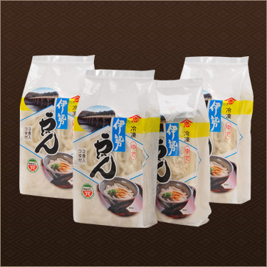 冷凍伊勢うどん お試しセット 12食入(3食×4袋) イメージ