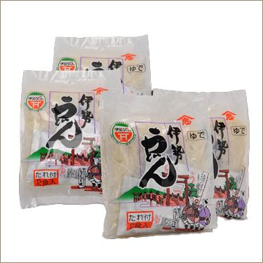 茹で伊勢うどん お試しセット 8食入(2食×4袋) イメージ